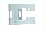 Supporto laterale per fissaggio di scatole portafrutto - LG SL300